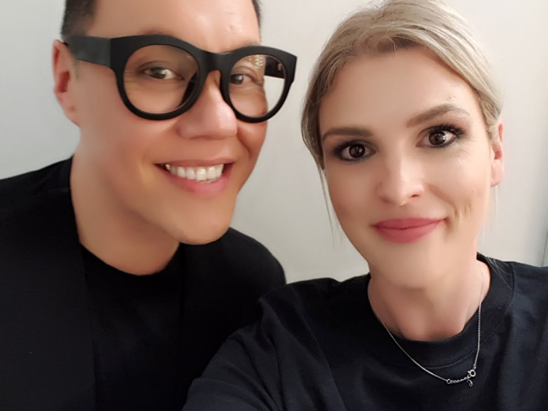 Touch ups for Gok Wan