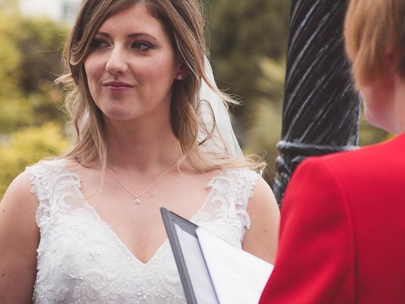 Beautiful bride Yasmin