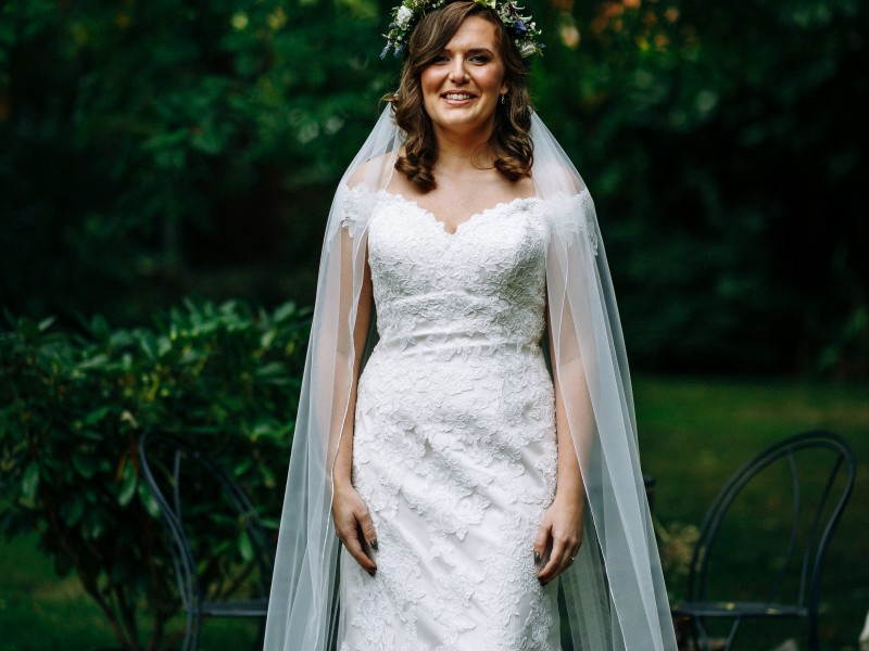 Beautiful bride Louise