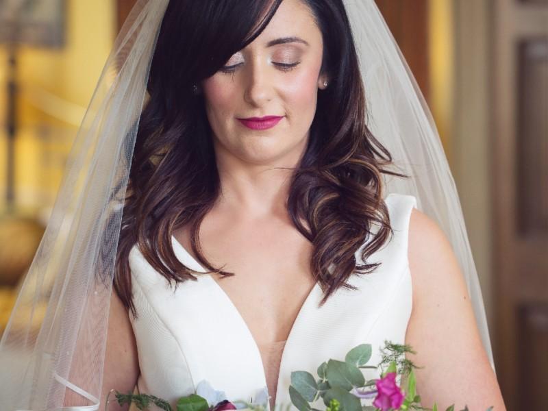 Beautiful bride Claudia